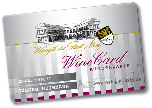 WineCard Muster